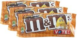Honey Nut M&M's